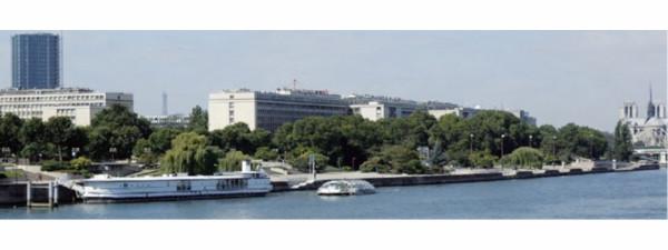 Jussieu vu de la Seine